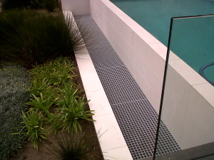 Swimming pool grating 1